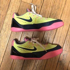 Nike Kobe Sneakers Y 5.5 Neon Black Pink